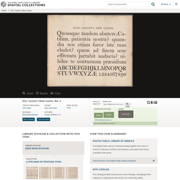 One of hundreds of thousands of free digital items from The New York Public Library.