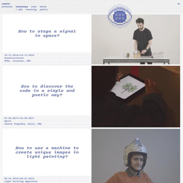 Lab212 - ateliers