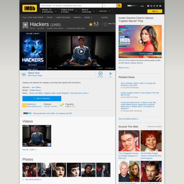 Hackers (1995) - IMDb