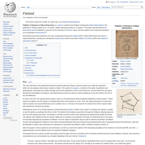 Flatland - Wikipedia