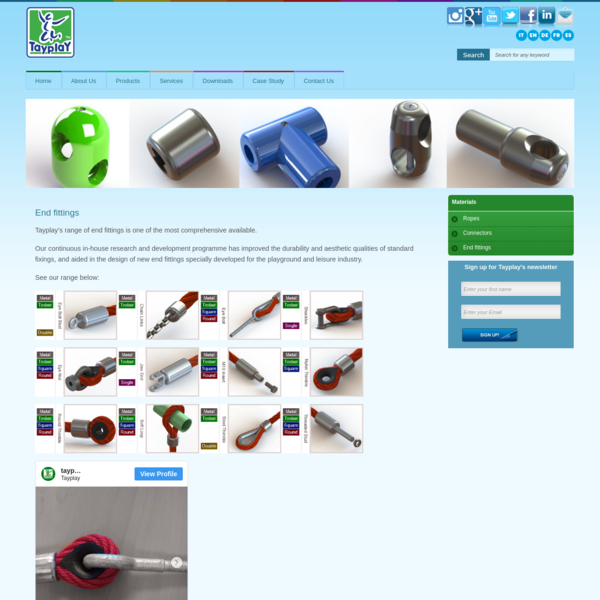 Choose an End Fitting to Fit Your Equipment