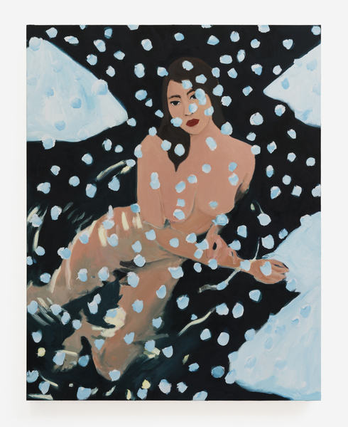 Becky Kolsrud, Nude in Snow, 2018