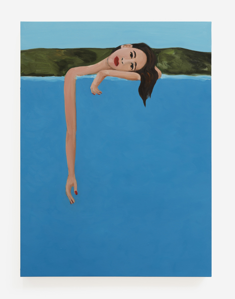 Becky Kolsrud, Resting Bather, 2018