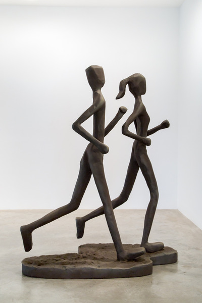 Cole Sayer, Couple Jogging, 2015