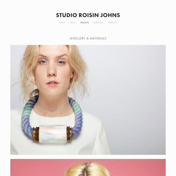 Projects - Studio Roisin Johns