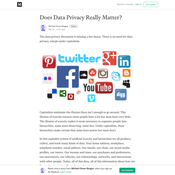Does Data Privacy Really Matter?