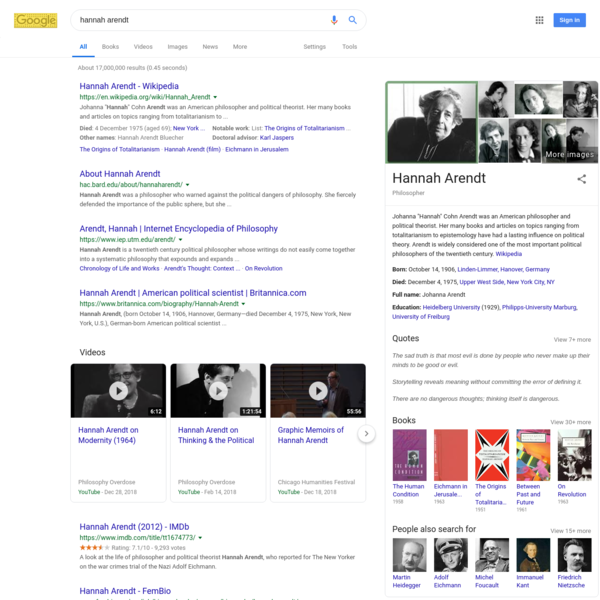 hannah arendt - Google Search