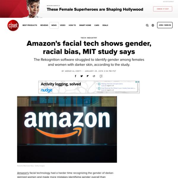 Amazon's facial tech shows gender, racial bias, MIT study says