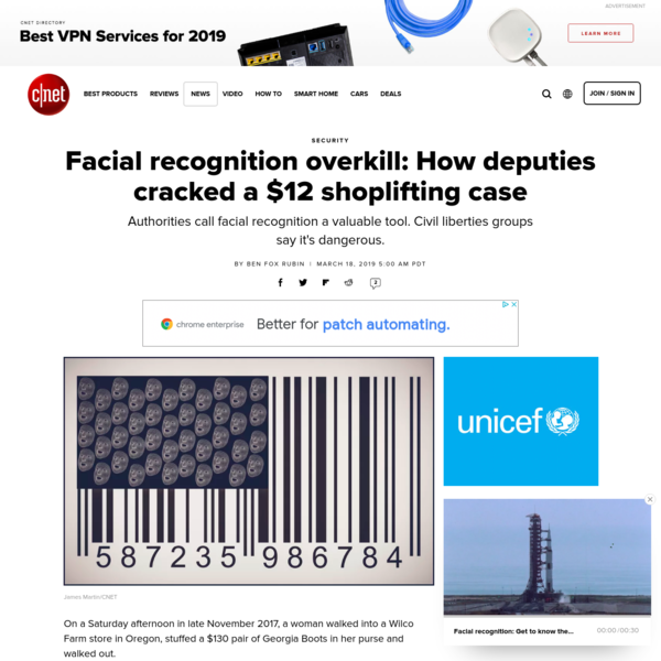 Facial recognition overkill: How deputies cracked a $12 shoplifting case