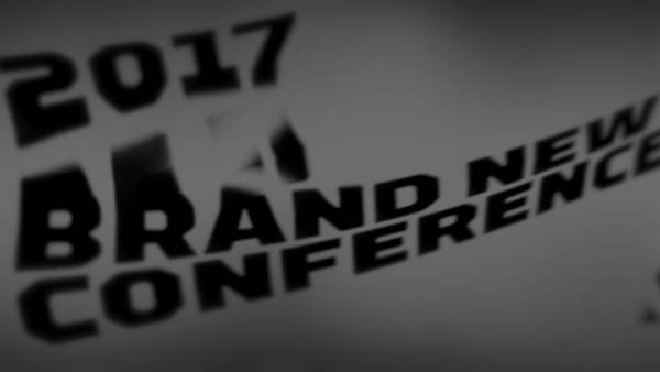 2017 Brand New Conference Animation Footage