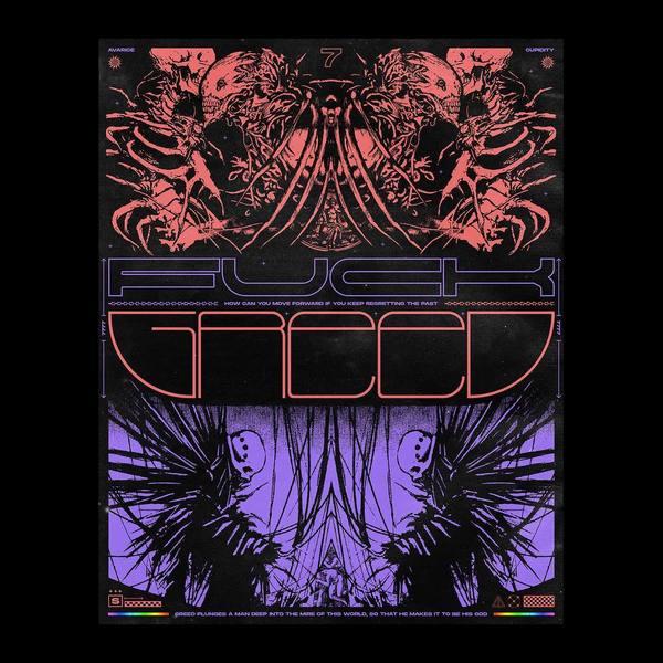 / / F U C K G R E E D / / * * * * * #design #graphicdesign #3d #render #cinema4d #c4d #owsla #nesthq #album #cover #albumart...