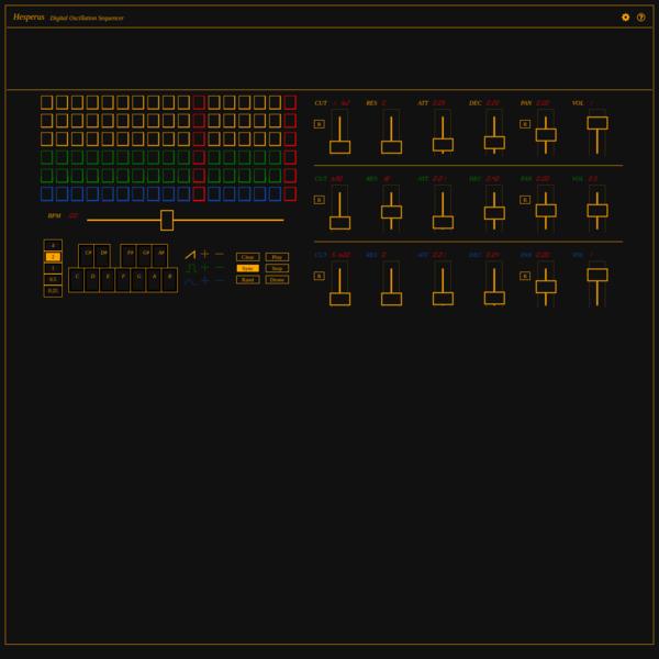 Hesperus - Digital Oscillation Sequencer