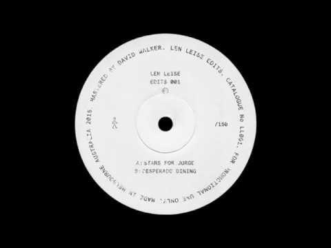 Len Leise - Stars For Jorge (Len Leise Edit)
