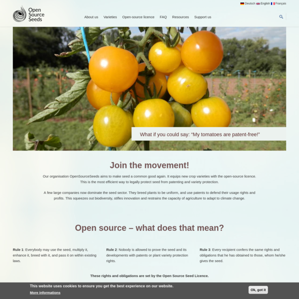 Home   Open Source Seeds