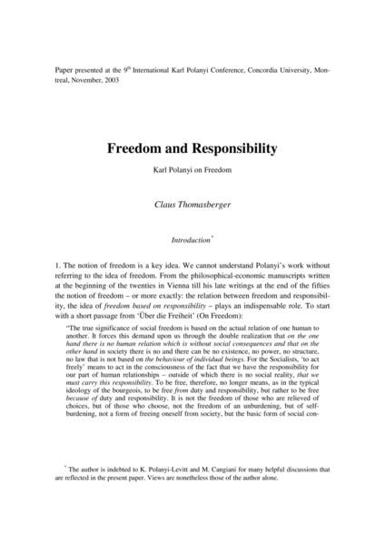 Karl Polanyi On Freedom.pdf