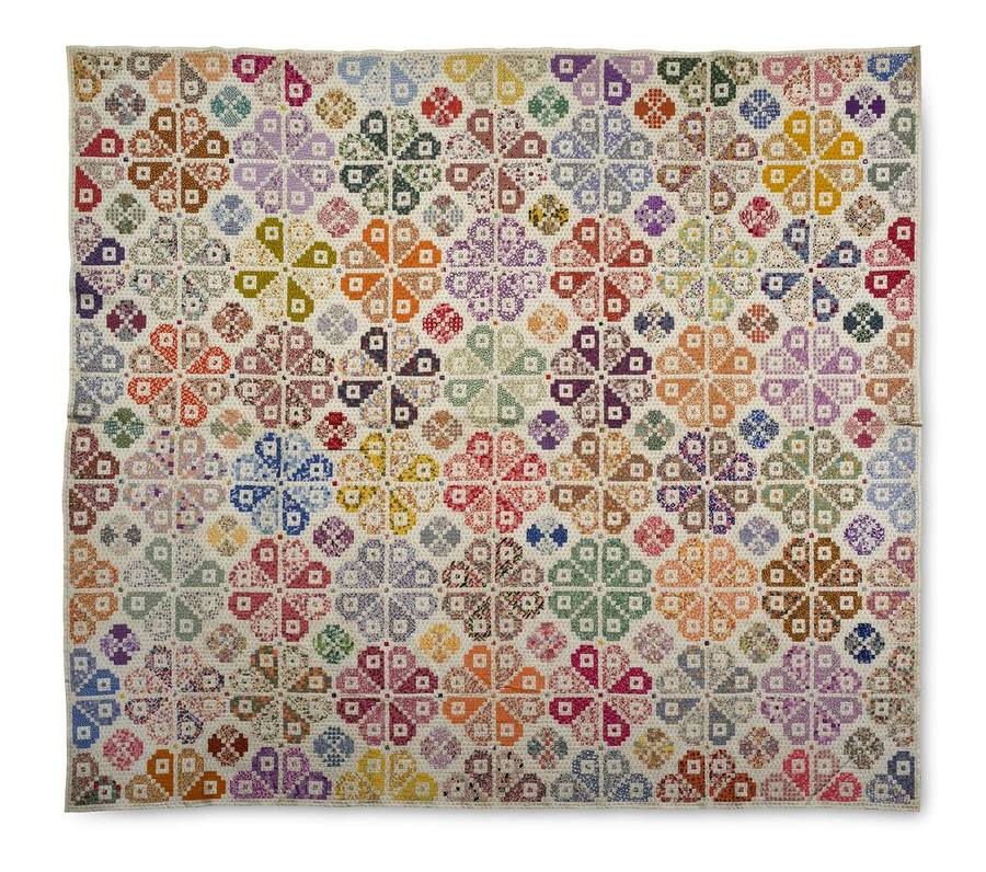 Lucettia May Sharp Young, Quilt top, 1930