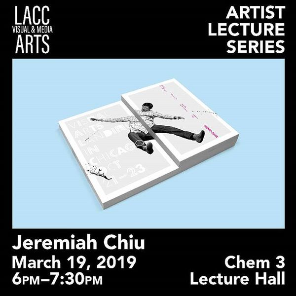 "22 Likes, 0 Comments - LACC Visual & Media Arts (@lacc.vama) on Instagram: ""Can't believe it, but or 3rd artist lecture is around the corner. Come join us March 19 at 6pm in..."""