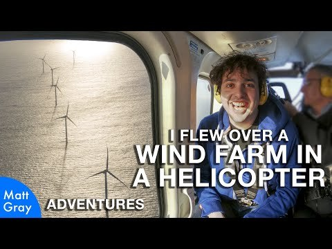 I Flew Over A Wind Farm In A Helicopter