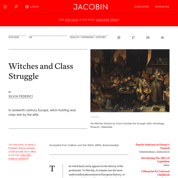 Witches and Class Struggle