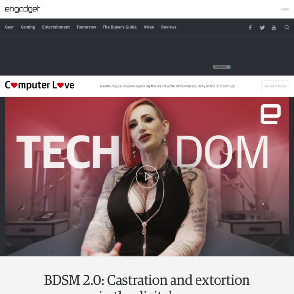 BDSM 2.0: Castration and extortion in the digital age