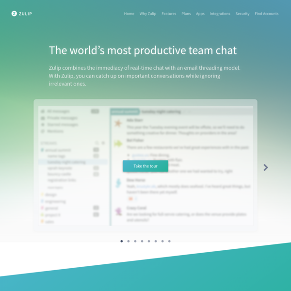 The world's most productive team chat