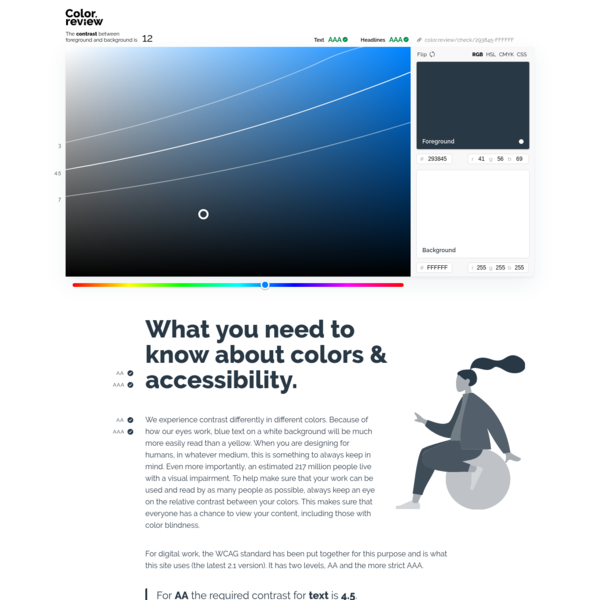 Colors that look and work great for everyone