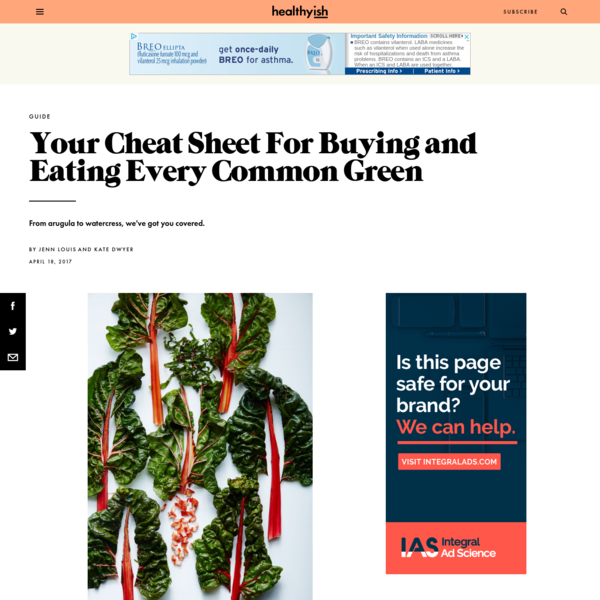 Your Cheat Sheet For Buying and Eating Every Common Green