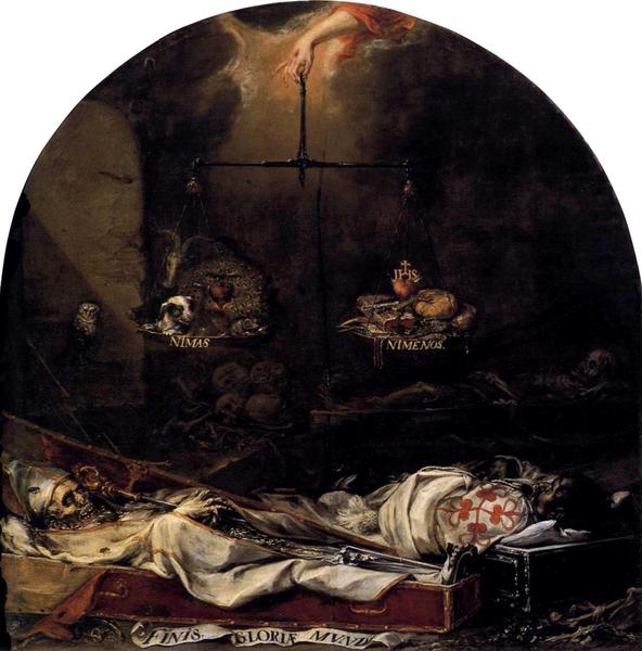Juan de Valdés Leal Finis gloria mundi XVII century