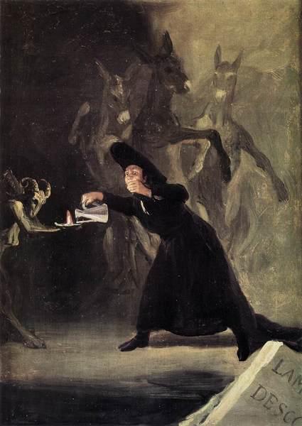 Francisco de Goya y Lucientes El hechizado por la fuerza  1798 National Gallery London
