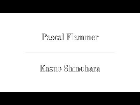 Pascal Flammer x Kazuo Shinohara ; The Difficult Double