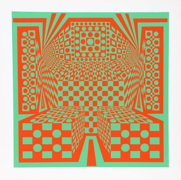Roy Ahlgren, Desert Icon III, 1970