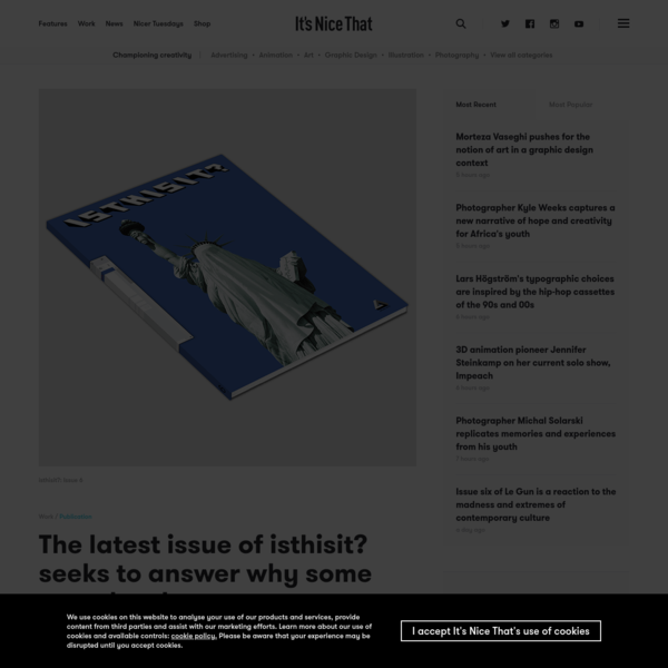 The latest issue of isthisit? seeks to answer why some news has become untrustworthy