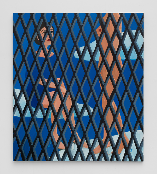 2019.03 Becky Kolsrud: Art Basel Hong Kong , Compression and Fragmentation (Double Figure/Nude and Clothed), 2019