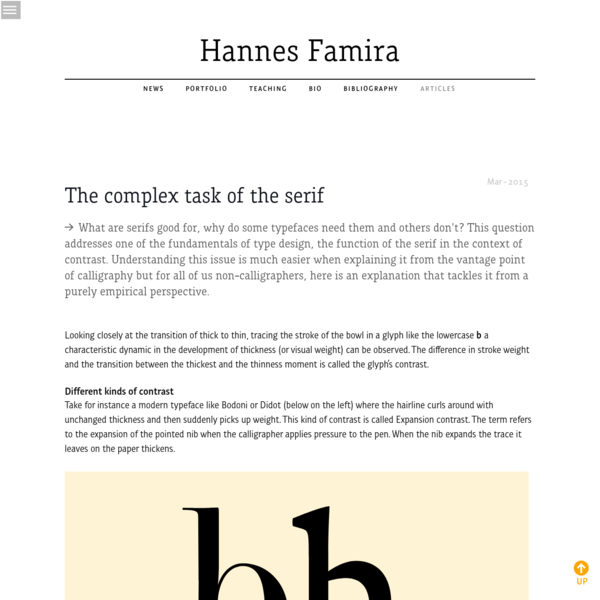 This is the private home page of Hannes Famira