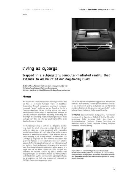 Living As Cyborgs