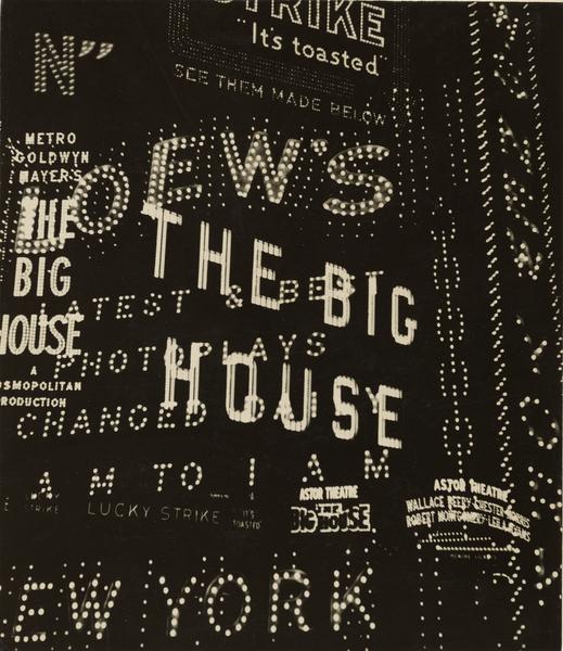 Walker Evans — Times Square / Broadway Composition (1930)