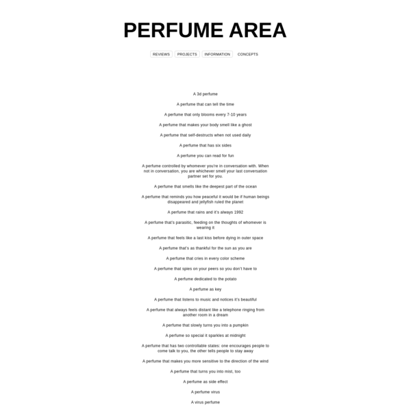 PERFUME AREA