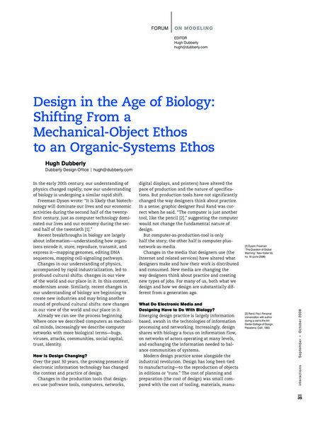 Dubberly - design in the age of biology.pdf