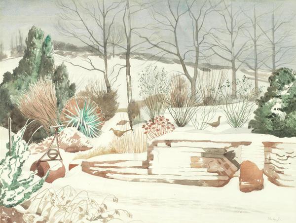 John Nash, The Garden In Winter, 1963
