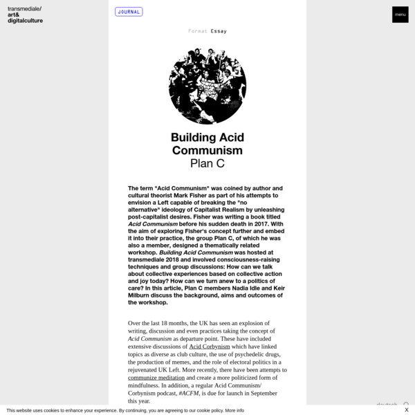 Building Acid Communism