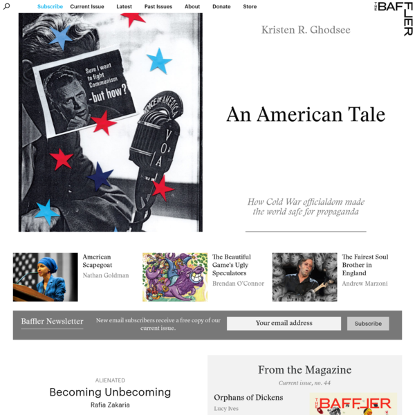 The Baffler-The Journal That Blunts the Cutting Edge