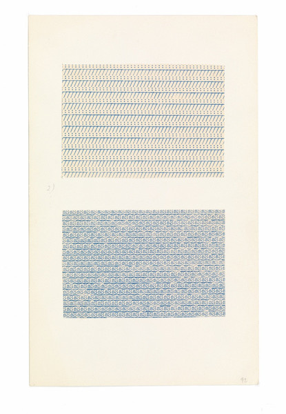 Anni Albers, Typewriter study