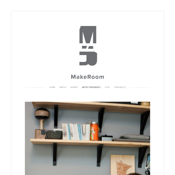 Artist Residency - MakeRoom