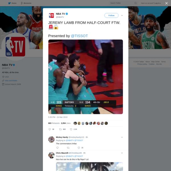 NBA TV on Twitter