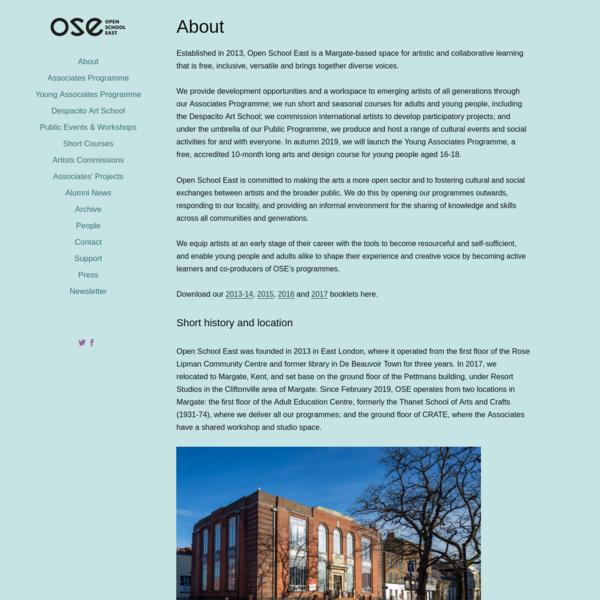 Open School East
