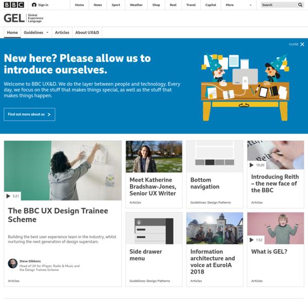 BBC GEL | Homepage