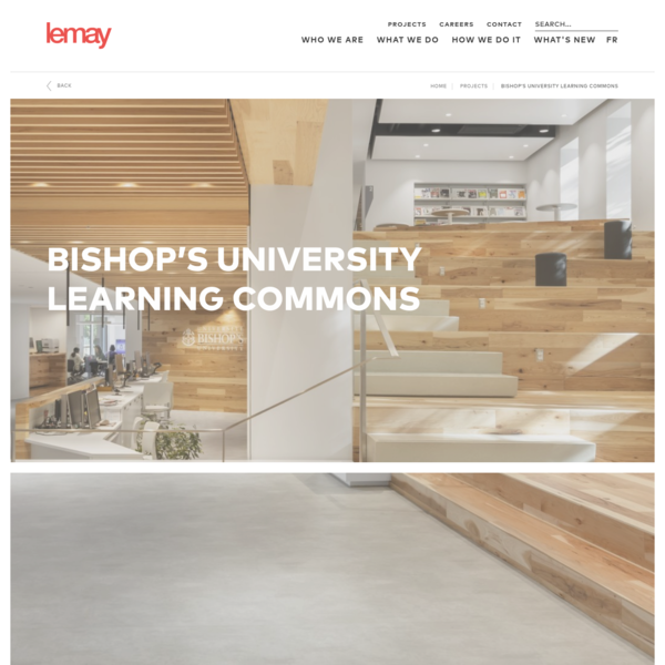 Bishop's University Learning Commons | Lemay