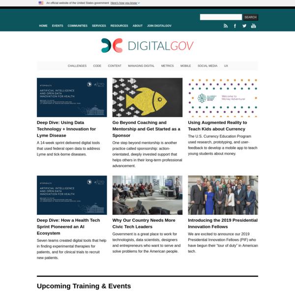 DigitalGov - Building the 21st Century Digital Government