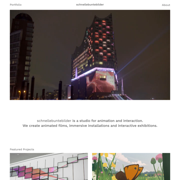 schnellebuntebilder - Studio for Animation and Interaction