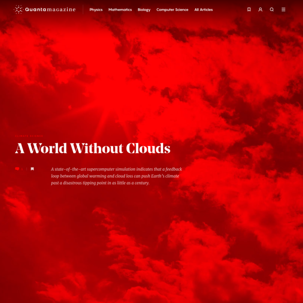 A World Without Clouds